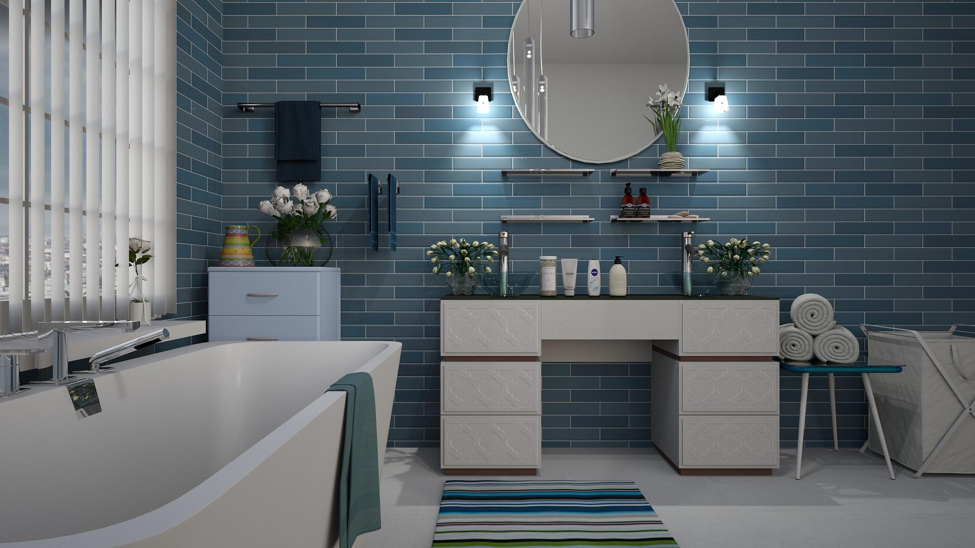 Badeværelse design. Indhent et godt tilbud via www.flisebent.dk